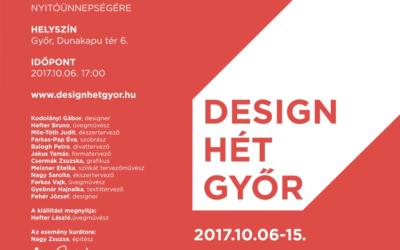 Design hét Győr – meghívó