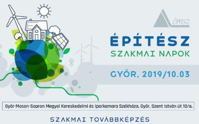 ÉMSZ SZakmai nap Győrben 2019.10.03.