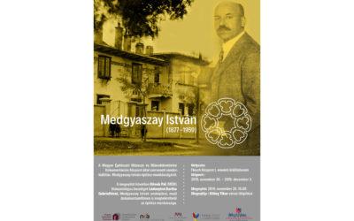 Medgyaszai István építész munkássága – kiállítás Mosonmagyaróváron
